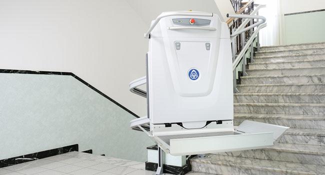 ανελκυστήρας πλατφόρμα για αμέα
